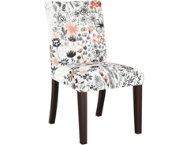 Botanical Red Dining Chair