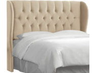 Cal. King Wingback Headboard