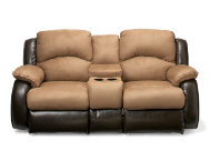 shop Reclining-Loveseat-W-Console