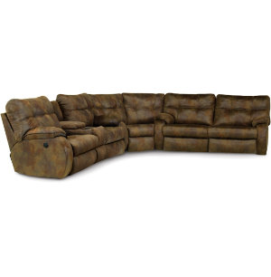 Sectional W  Sofa & Power LVST