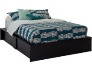 Step 1 Black Queen Bed