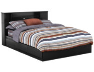 Vito Black Queen Mates Bed