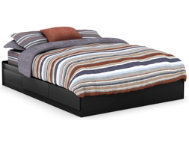 Fusion Queen Black Mates Bed