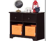 Breeze Brown Double Nightstand