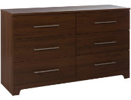shop Primo-Brown-6-Drawer-Dresser