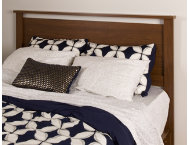 Primo Queen Brown Headboard