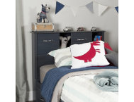 Ulysses Blue Twin Headboard