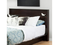 Holland Brown Queen Headboard