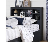 Aviron Blue Twin Headboard