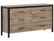 Munich Black   Oak Dresser