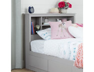 Reevo Twin Gray Headboard