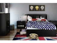 shop Steo-1-Full-Black-Headboard