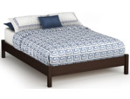 Step 1 Full Brown Platform Bed