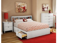 shop Spark-Full-White-Headboard