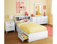 shop Spark-White-Twin-Headboard