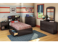 Logik Twin Chocolate Headboard