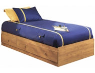 Little Treasures Twin Pine Bed