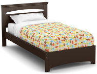 Libra Chocolate Twin Bed