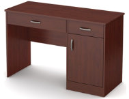 Axess II Cherry Desk