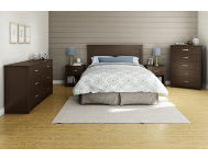 Fusion Queen Brown Headboard
