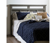 Versa Queen Gray Headboard