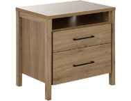 Gravity Rustic Oak Nightstand