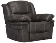 shop Huxford Steel Glider Recliner