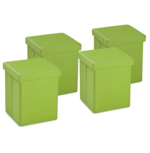 Pack of 4 Cubes - Green