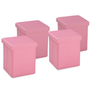 Pack of 4 Cubes - Pink