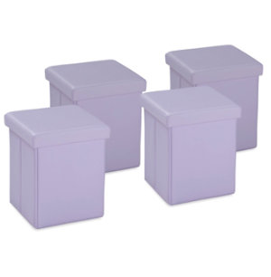 Pack of 4 Cubes - Purple