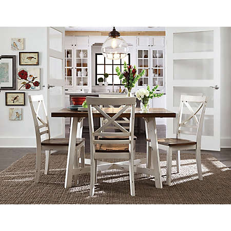 shop amelia table and chairs main amelia table and chairs   formal dining   dining rooms   art van      rh   artvan com