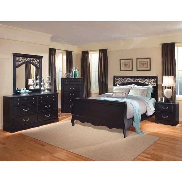Zoom; |; Enlarge - Master Bedroom Furniture King & Queen Bedroom Sets
