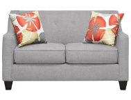 Axis Grey Loveseat