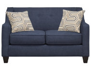 Axis Navy Loveseat