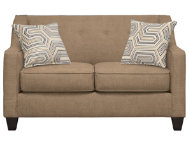 Axis Taupe Loveseat