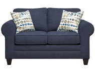 Saxon Navy Loveseat