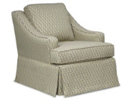 Opal Swivel Glider Chair