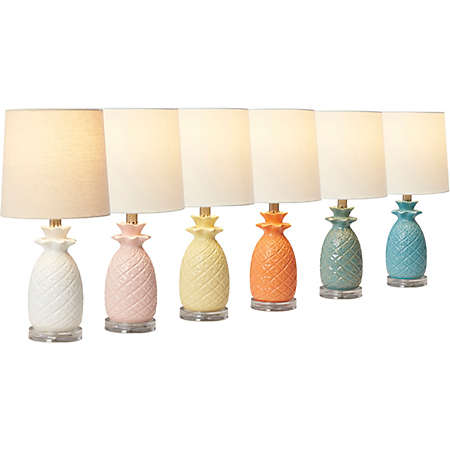 ideas lighting lamps photo pineapple fans and lamp ceiling