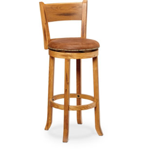 30  Swivel Stool With Back