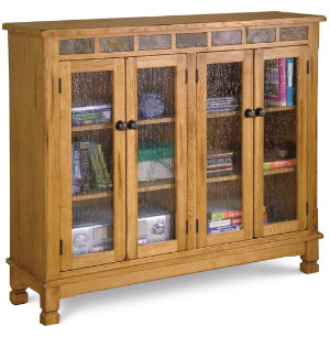 Sedona 4 Door Bookcase