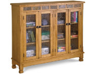 Sedona-4-Door-Bookcase