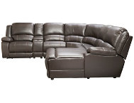 Wyatt 6PC Reclining Sectional