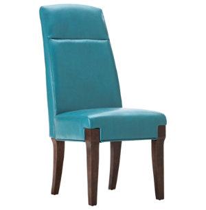 Teal Baker Parsons Chair - Art Van Furniture