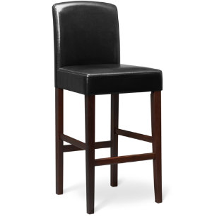 Colin 30  Black Bar Stool