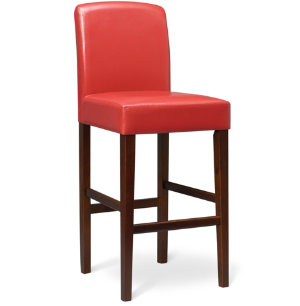 Colin 30  Red Bar Stool