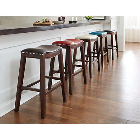 shop 30 Saddle Stool Collection Main  sc 1 st  Art Van Furniture & 30