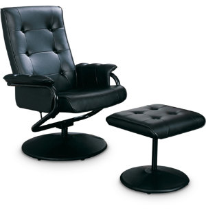Tiffany Swivel Chair & Ottoman
