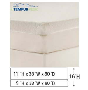 Twin XL Low Pro Mattress Set