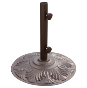 50lb Bronze Umbrella Base
