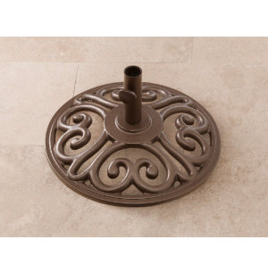 35lb Bronze Umbrella Base